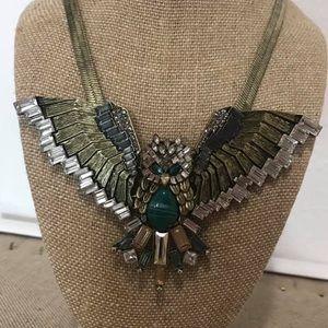 Chloe + Isabel Jewelry - Owl in Flight Statement Necklace 🦄
